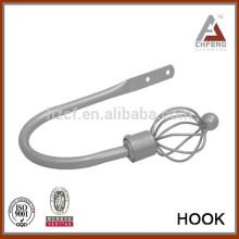 Аксессуары для шторных стержней, локтевые удержания, металлические удержания, держатели для занавесок