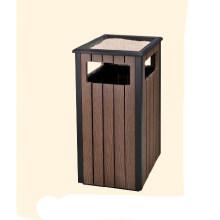Recycling Wood Dustbin/Waste Bin (DL 113)