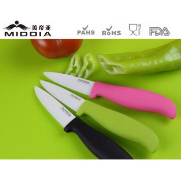 Antibakterielle Küche Obst Schälmesser in 3 Zoll