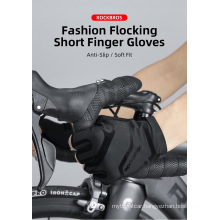 Bike Riding Sports Outdoor Touch Screen Anti Slip Size Adjustable Leather Gloves