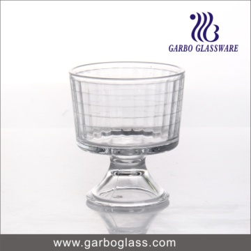 Party Glassware Footed Sobremesa com Nuts Triffle Glass Bowl