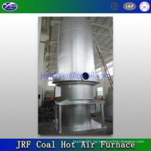 Horno y estufa de aire caliente ardiente del carbón
