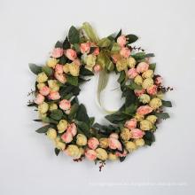 Excelente calidad DIY 35 cm guirnalda del banquete de boda para la decoración del hogar