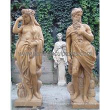 Резная каменная скульптура, резьба Мраморная статуя с гранитным песчаником (SY-C1084)