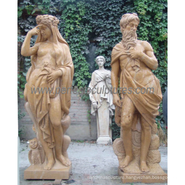 Carved Stone Sculpture Carving Marble Statue with Granite Sandstone (SY-C1084)