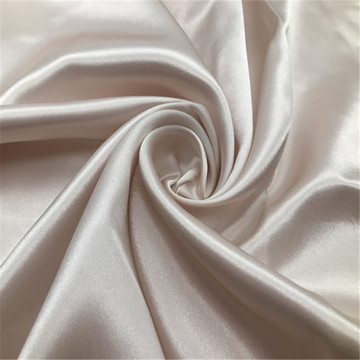 Tissu satiné blanc pour literie