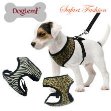 Safari Soft Pet Safety Arnês Novo Design Dog Led Harness Atacado Pequeno Cão Harness.