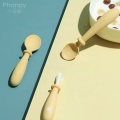 Cheap-Goods From Baby Silicone Food Spoon And Fork