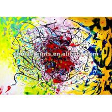 Abstract Free Spirit Canvas Painting with Stretcher