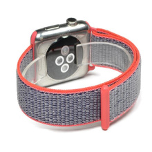 2018 nylon apple watch pulseira de velcro banda esporte