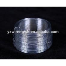 0.28mm alambre galvanizado electro del hierro / alambre de metal galvanizado (fábrica directa)