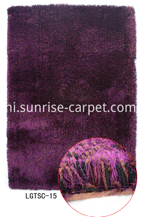 Elastic Silk Mixed Shaggy