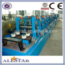 Steel welded pipe roll forming machines from Shanghai
