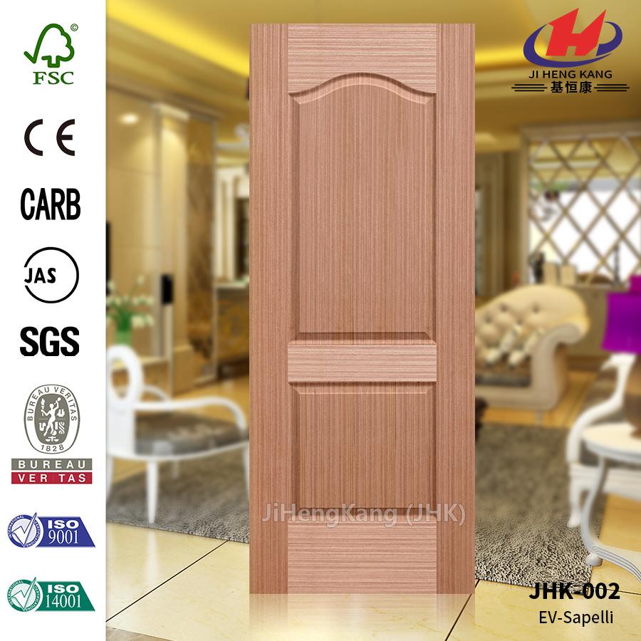 Two Panels Apartment Construction  Veneer Door skin
