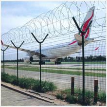 Clôture d'aéroport de sécurité à faible teneur en carbone 358
