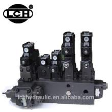 maquinaria chinesa da modelação por injeção da válvula de controle direcional da fabricação comum da pressão do trilho