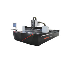 1000w fiber laser machine cutting CS SS