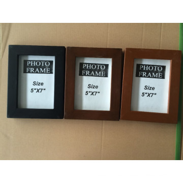 Plain Wood Picture Frame Photo Picture Frame for Home Decoration
