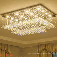 Kristallen kroonluchter lustre de cristal patriota de teto iluminação 92045