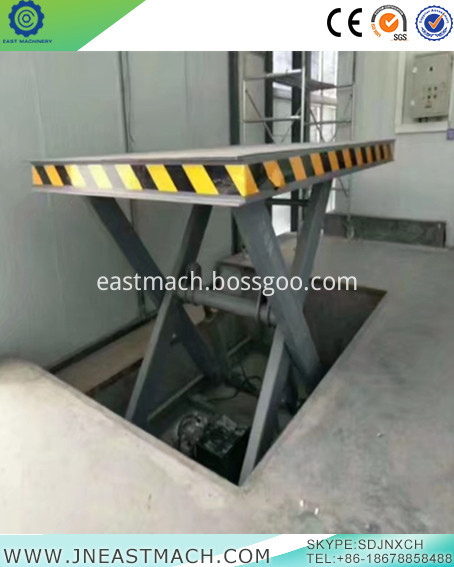 Fixed Hydraulic Scissor Lift Platform Used For Car Lift