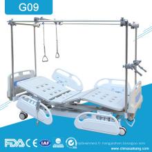 Lits de traitement de physiothérapie de G09 Orthopeadics avec le cadre de traction