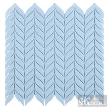 Azulejos de mosaico de vidrio para piscina