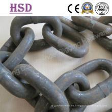 Cadena de elevación, aleación de acero G80, cadena de amarre, unión de cadena de amarre
