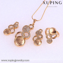 61770-Xuping Fashion Woman Jewlery avec plaqué or 18 carats