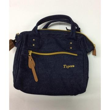 Tote bag casual in denim