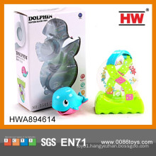 Funny Baby Bath Set Game Plastic Dolphin Toys