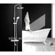Ensemble de douche thermostatique pour baignoire en laiton de luxe