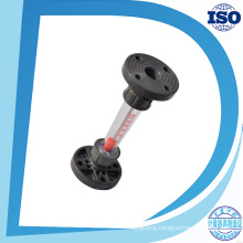 Lzs-150 Dn150 Water Plastic Tube Type Rotameter Industry Flange Connection Flow Meter