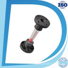 Lzs-150 Dn150 Tipo de Tubo de Água Plástica Rotâmetro Flange Da Indústria Flange Medidor de Fluxo