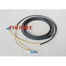 Far Transmission Fiber Optic Patch Cord LC Duplex Base Stat