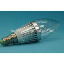 Lumière de bougie à ampoule à levier haute en alliage d'aluminium