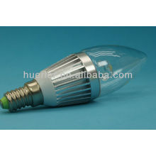 Aluminum Alloy high hat led bulb candle light