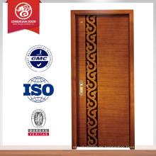 Puerta de madera moderna diseña los diseños interiores de la puerta de madera solo interior de la puerta de madera
