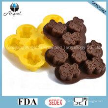 Großhandel Bär Form Silikon Form für Schokolade Backwerkzeug Si23