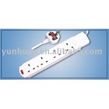 Estilo británico enchufe IEC CABLE de plomo