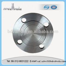 Astm a105n brida de acero al carbono b16.5 astm a105 brida ciega