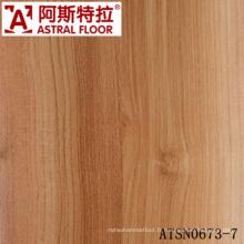 Plancher stratifié de haute qualité de 8 mm et 12 mm avec des couleurs populaires