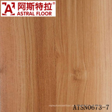 High Quality 8mm & 12mm Laminated Flooring com cores populares