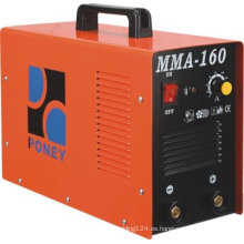 MMA DC inversor máquina de soldadura mosfet tecnología MMA-160/200