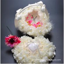 Heart-shaped flower decoration bridal party wedding flower girl basket