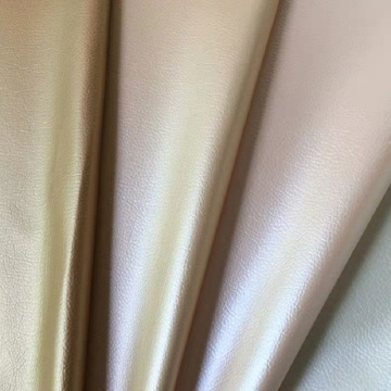 エンボス加工されたLichee Soft Surface PU Leather for Garment