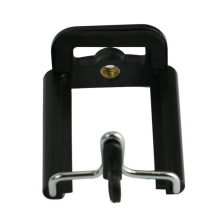 Plastic Black Camera Stand phone Clip Bracket Holder Monopod Tripod Mount Adapter for Mobile phones