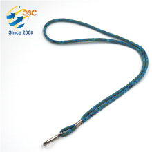 Hergestellt in China Modische Tubular Lanyards Metal Breakaway
