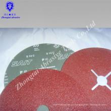 Disco abrasivo de lixamento abrasivo de filme abrasivo Yichang 4.5