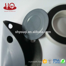 Viton Rubber Gaskets Silicone gasket with PTFE surface envelope coated sealing washer