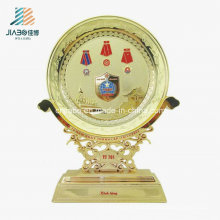 Hot Sell Wholesale Enamel Gold Plate for Souvenir for Souvenir